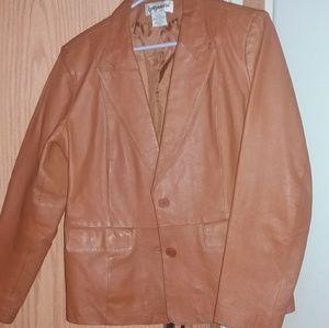 Jackets & Blazers - Leather blazer jacket